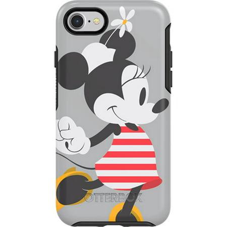 Otterbox Symmetry ries Disney Classics for iPhone / 8 & iPhone / 7, Disney Minnie Stripes