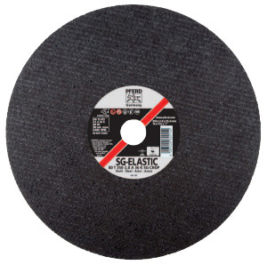 A-SG Chop Saw Cut-Off Wheel, 14 in Dia, 3/32 in Thick, 36 Grit, Alum Oxide
