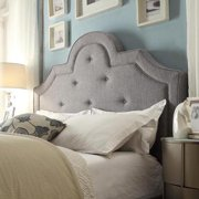 iNSPIRE Q Harper Tufted High-arching Linen Upholstered Full-size adboard by  Bold
