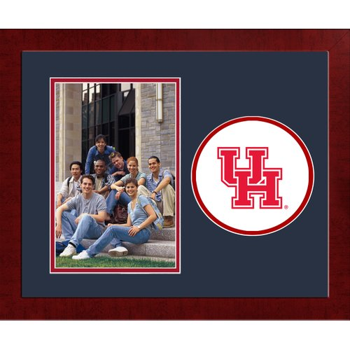 University of Houston Spirit Photo Frame (Vertical)