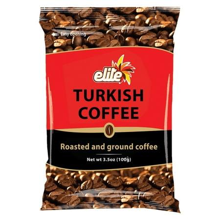 Elite Turkish Coffee, Ground, 3.5 Oz (Coffee Turkish)