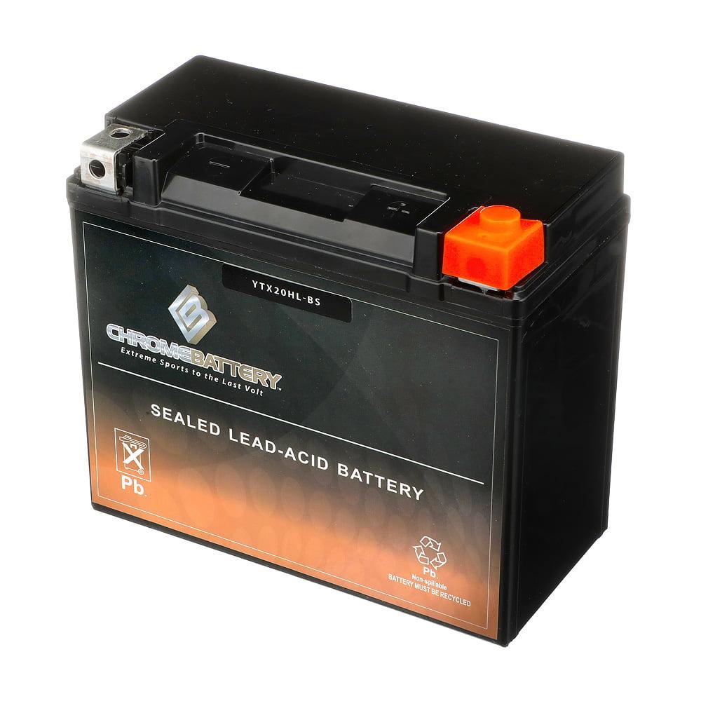 /03/YUASA YTX20L-BS Dry AGM Batterie Harley Davidson FLSTS 1450/Heritage Springer 00/