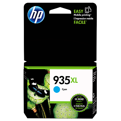 HP 935XL High Yield Cyan Original Ink Cartridge