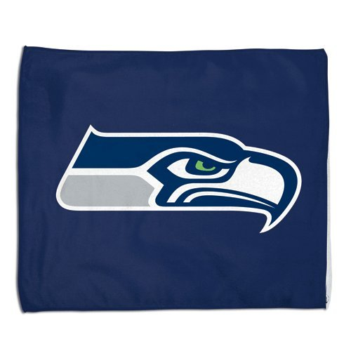 Seattle Seahawks NFL Rally Towel 15x18 Sports Fan Football Hand Kitchen Bar Rag Officially Licensed NFL Merchandise