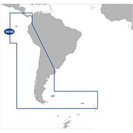- C-MAP SA-M500 C-CARD FORMAT COSTA RICA CHILE FALKLANDS