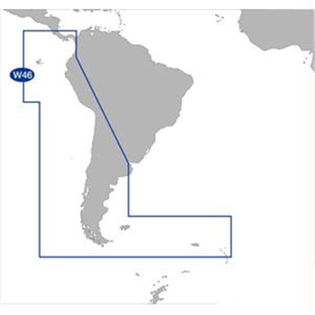 C-MAP SA-M500 C-CARD FORMAT COSTA RICA CHILE FALKLANDS