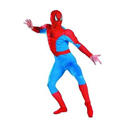 Spider Man Muscle Costume (disguise men's marvel spider-man classic muscle costume, blue/red,)