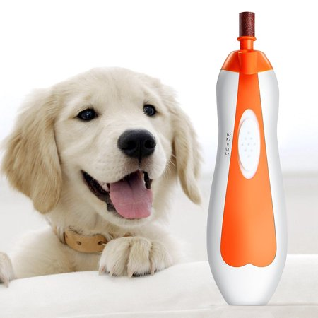 Adjustable Speeds Electric Pet Nail Grinder Grooming Trimmer Clipper Dog Cat Claw  - image 6 of 8