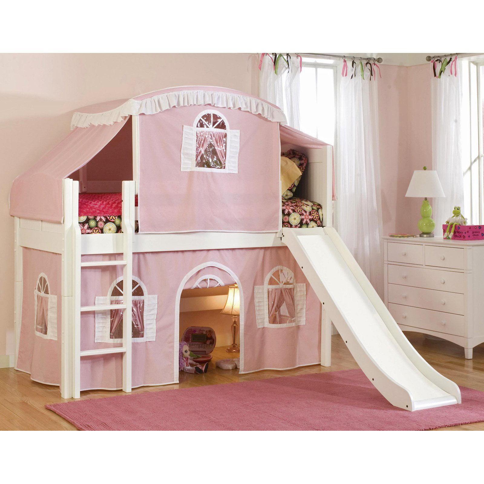 Bolton Cottage Premium Low Loft Tent Bed
