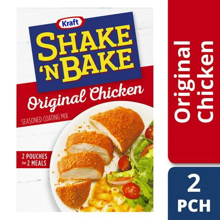 (3 Pack) Kraft Shake 'n Bake Original Chicken Seasoned Coating Mix, 4.5 oz