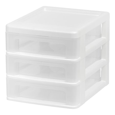 System Storage Drawer (IRIS Compact Desktop 3-Drawer System,)