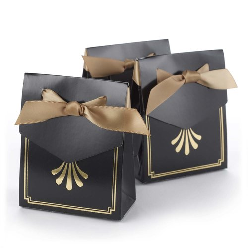 Le Prise Art Deco Tent Favor Boxes