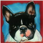 Continental Art Center Dog 1 Tile Wall Decor