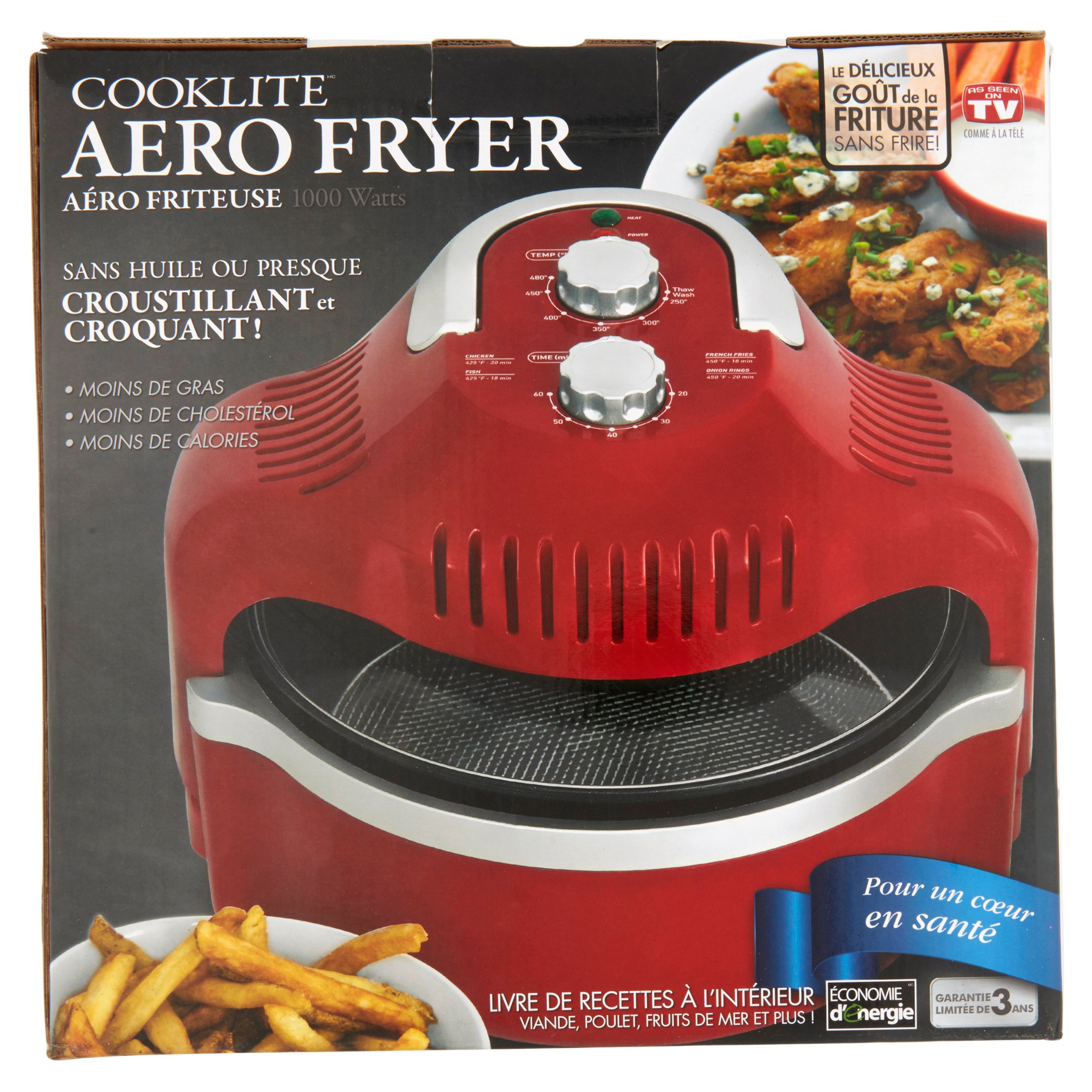 Cooklite 1000 Watts Aero Fryer