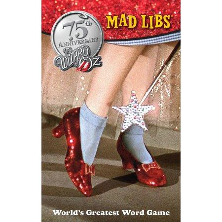 The Wizard of Oz Mad Libs (Wizard Of Oz Wedding)
