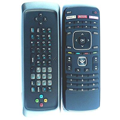 new vizio qwerty keyboard remote for sv422xvt sv472xvt vf...