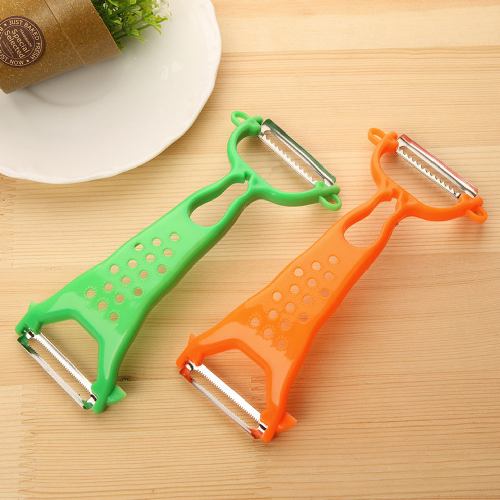1x Kitchen Tools Helper Vegetable Fruit Peeler Parer Julienne Cutter Slicer