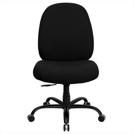 HERCULES Series 400 lb. Capacity Big & Tall Executive Swivel Office Chair Black - Flash Furniture