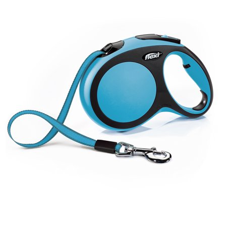 Flexi New Comfort Retractable Dog Leash, Blue