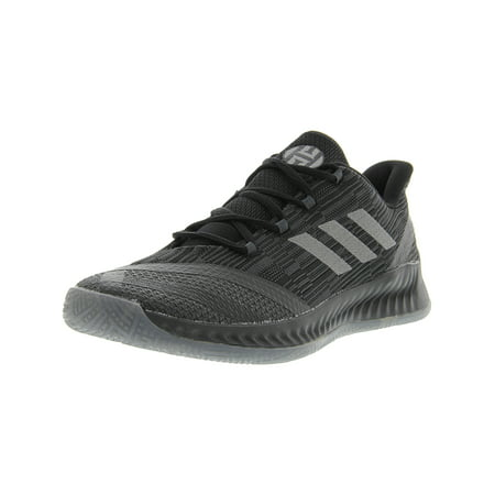 Adidas Men's Harden B/E 2 Core Black / Dark Solid Grey Ankle-High Basketball Shoe -