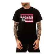 Black Scale Mens Old Logo Graphic T-Shirt
