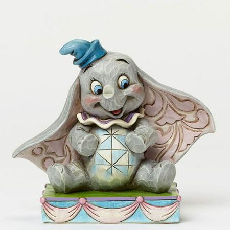 Jim Shore Disney 4045248 Baby Dumbo Personality Pose