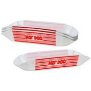 Plastic Hot Dog Holders, Set of 4