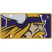 Minnesota Vikings Mega Acrylic License Plate - No Size