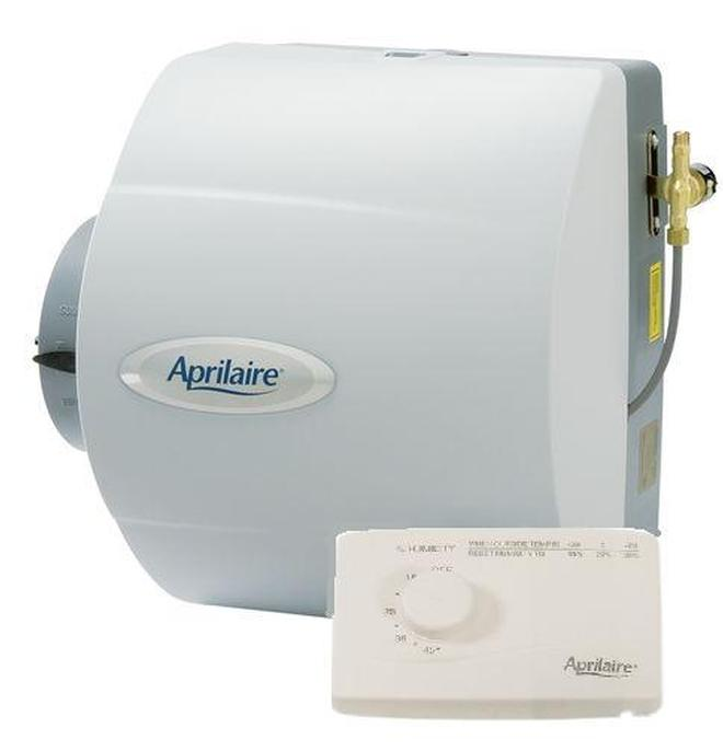 Aprilaire Model 600M Bypass Whole House Humidifier With Manual Humidifier Control