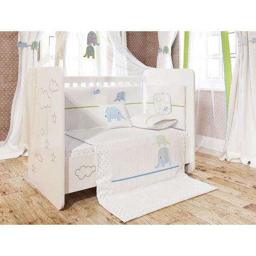 Harriet Bee Baywood Baby Boy Sleep 6 Piece Crib Bedding Set