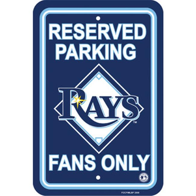 Fremont Die 60230 Tampa Bay Rays - Plastic Parking Sign