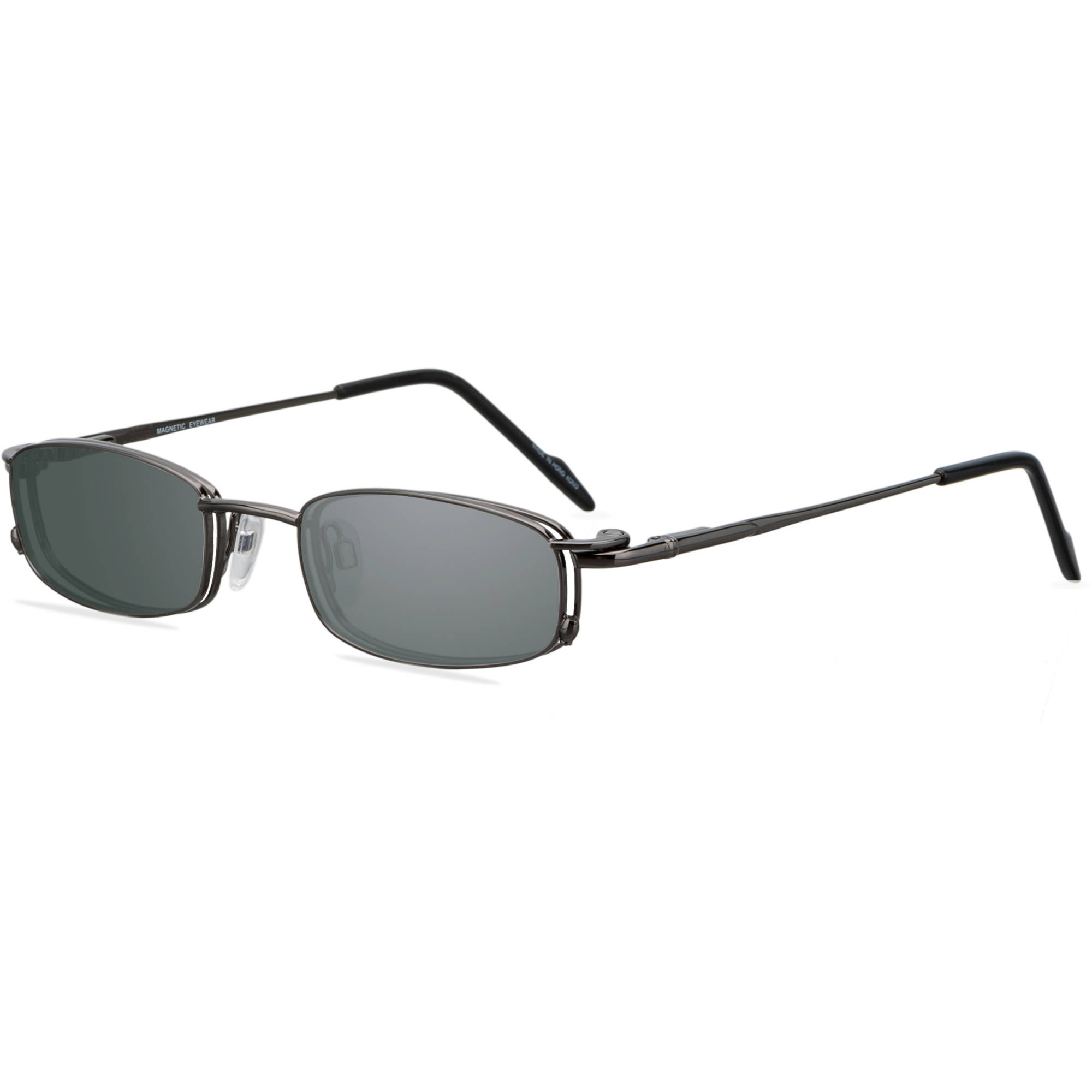 EasyClip Mens Prescription Glasses, MG747 Grey