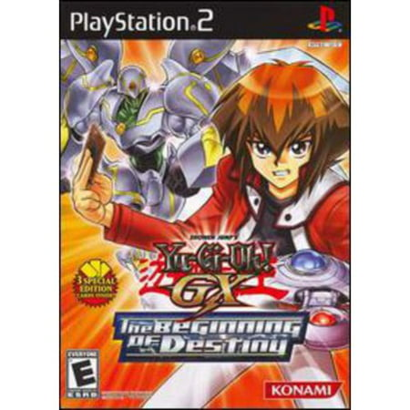 Yu Gi Oh Gx  The Beginning Of Destiny   Playstation 2