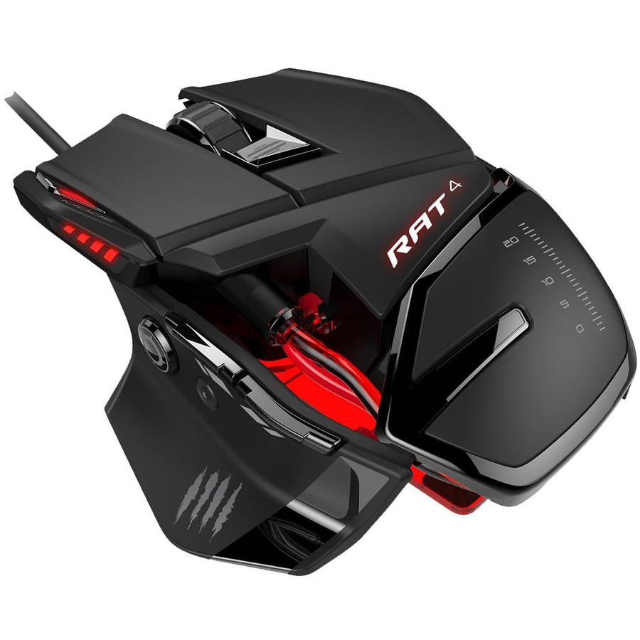 Mad Catz RAT 4 Wired Optical Mouse