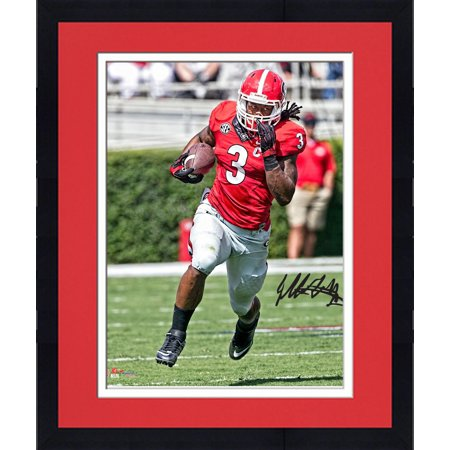 competitive price 543cd f4dce Framed Todd Gurley Georgia Bulldogs Autographed 16