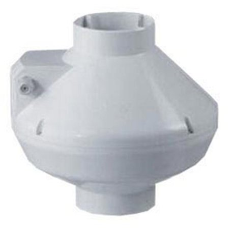 6  Centrifugal Fan Plastic   325 Cfm White