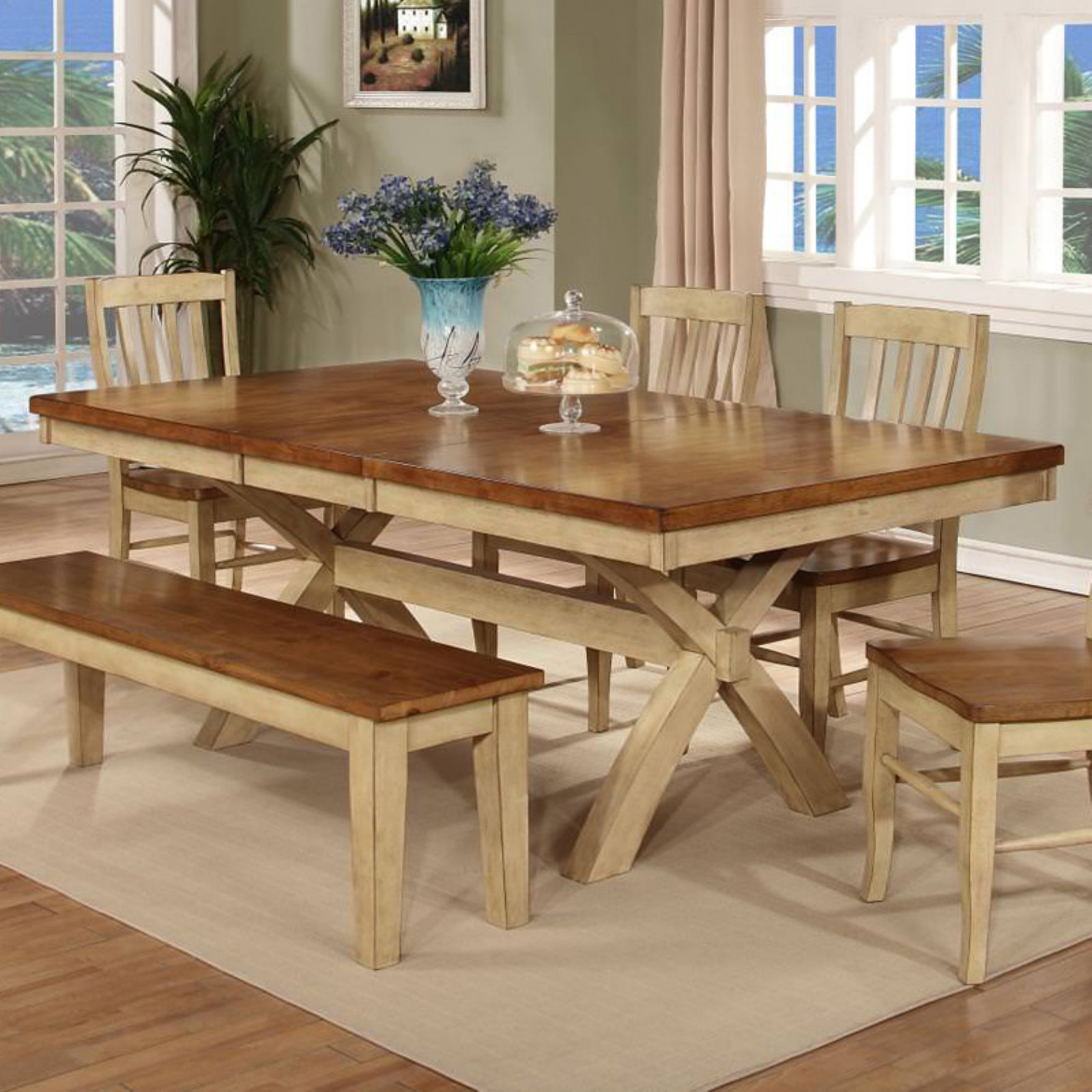 Chelsea Home Vail Rectangular Dining Table