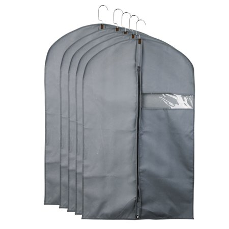 9122952f6df0 Garment Cover Bag Storage Bag Dress Suit Clothes Coat Jacket ...