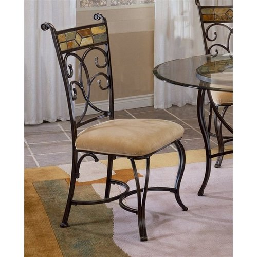Hillsdale Furniture 4442-802 Pompei Set Dining Chair (Set of 2) by Hillsdale Furniture