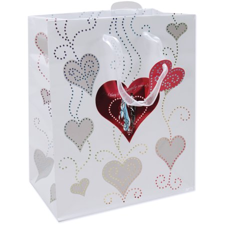 Bride And Groom Gift Bags (Large Foil Gift Bag, Bride And)