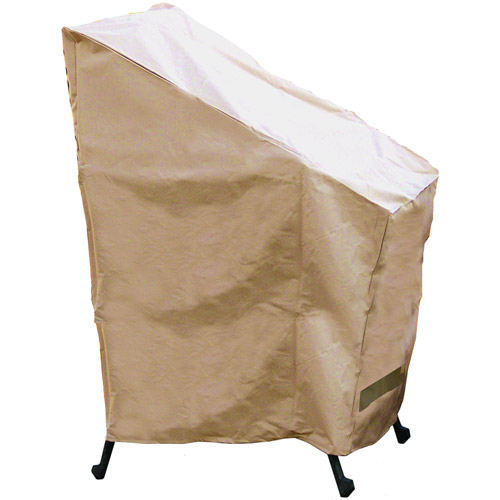Sure Fit Stack of Chairs Cover, Taupe