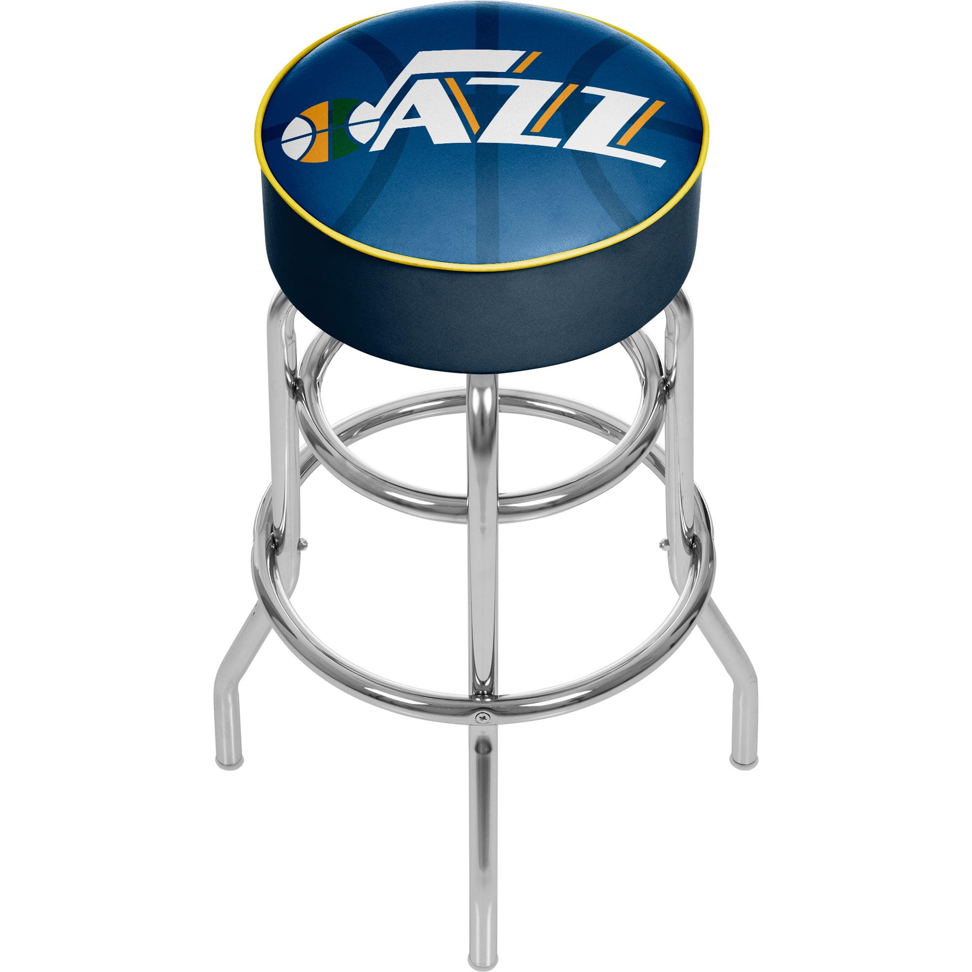 NBA Padded Swivel Bar Stool - Fade - Utah Jazz