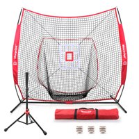 Deals on Morpilot Baseball/Softball Bundle 7x7 Hitting Net