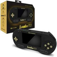 Hyperkin SupaBoy Blackgold Portable Pocket Handheld Console for Nintendo SNES / Super Famicom Games