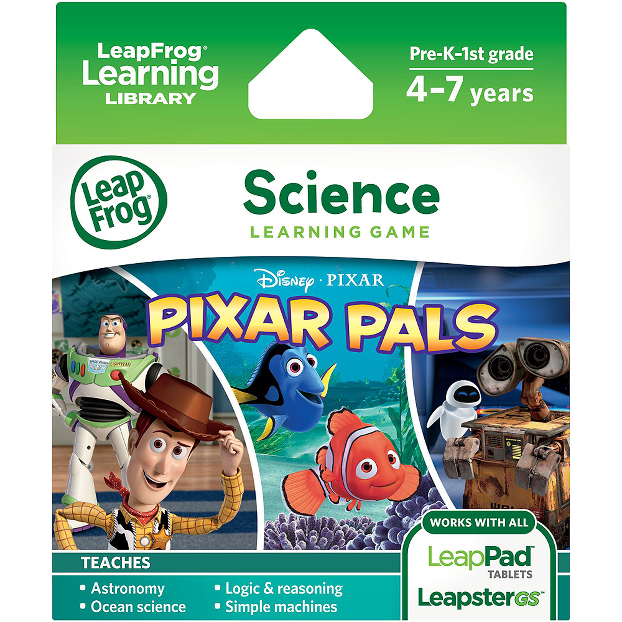 LeapFrog Explorer & LeapPad Learning Game: Disney-Pixar Pixar Pals