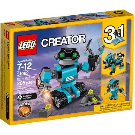 Click here for LEGO Creator Robo Explorer 31062 prices