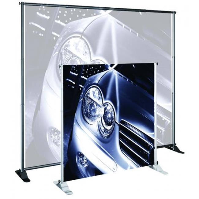 Testrite Visual Products BN4 Grand Format Banner Stands