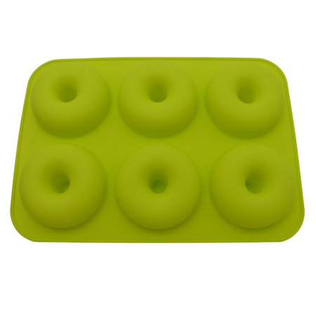 Mold Machine - 6-Cavity Silicone Donut Baking Pan Non-Stick Mold Dishwasher Decoration Tools
