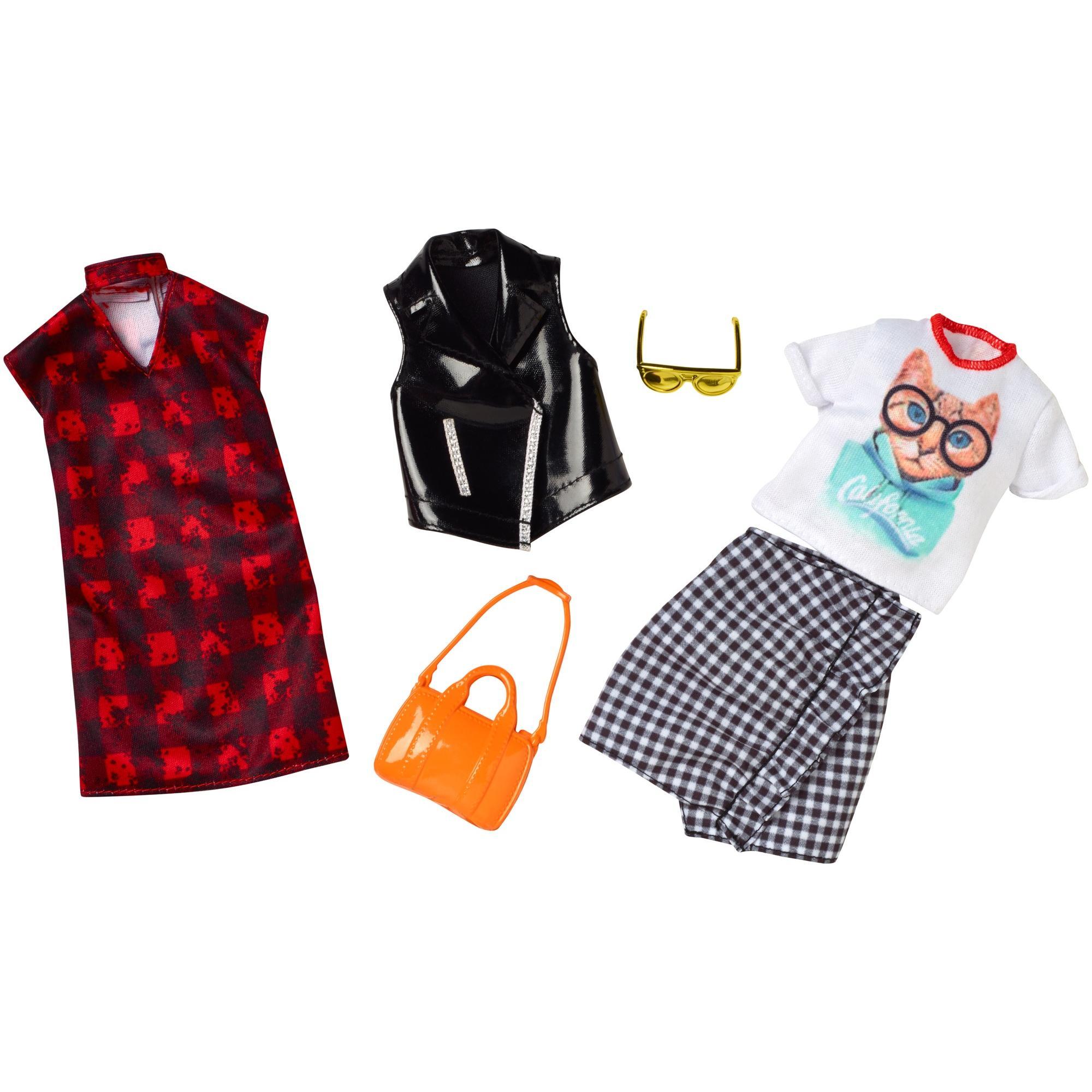 Barbie Choker Dress Fashion 2 Pack