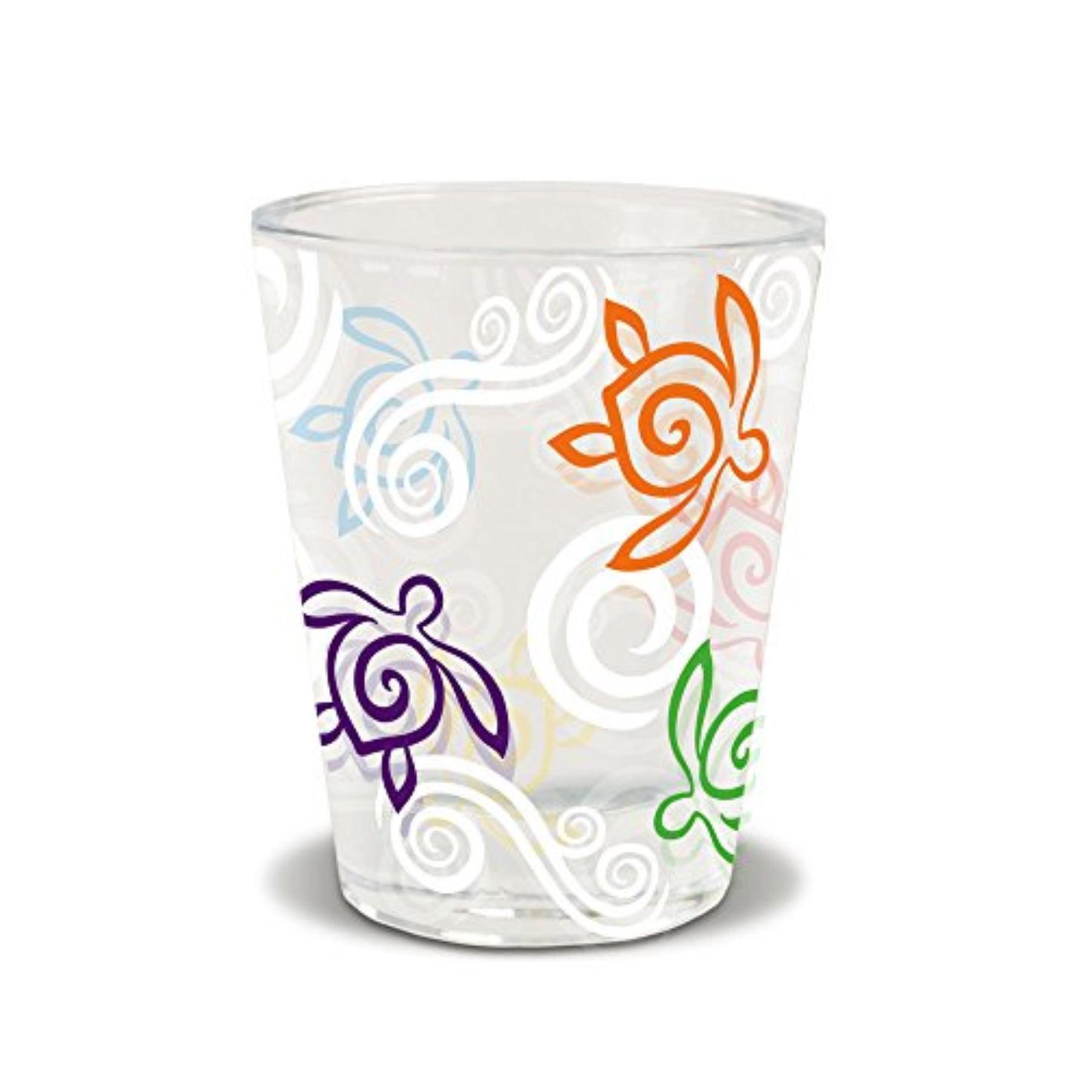 Honu Swirl Short Shot Glass
